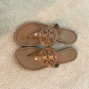 Nude Tory Burch Miller Sandals - size 7